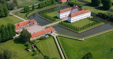 The Baroque Park at Clausholm Castle